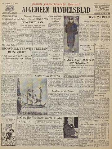 Watersnood documentatie 1953 - kranten 1953-11-18