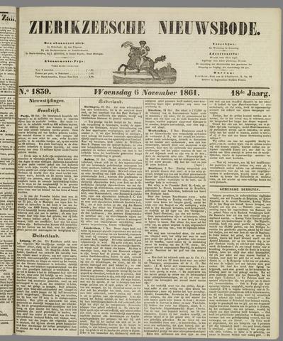 Zierikzeesche Nieuwsbode 1861-11-06