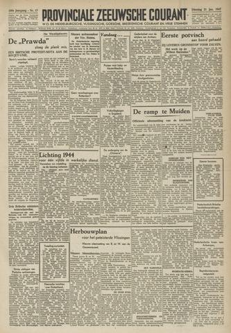 Provinciale Zeeuwse Courant 1947-01-21