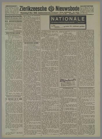 Zierikzeesche Nieuwsbode 1933-11-08
