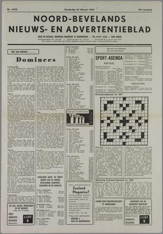 Noord-Bevelands Nieuws- en advertentieblad 1986-02-20