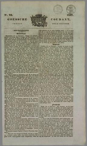 Goessche Courant 1837-09-22