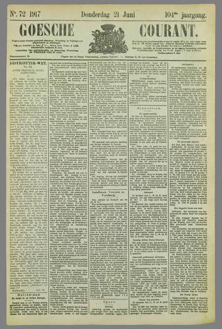Goessche Courant 1917-06-21