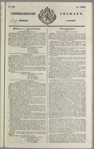 Zierikzeesche Courant 1844-10-01
