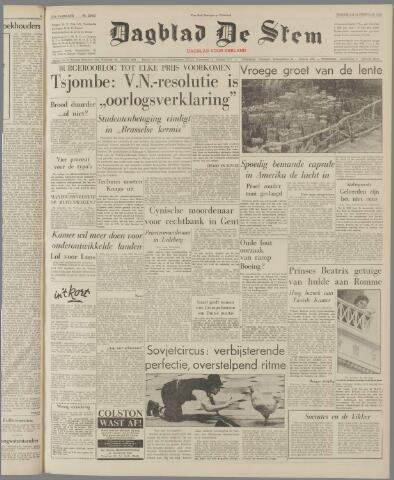 de Stem 1961-02-22