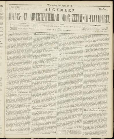 Ter Neuzensche Courant. Algemeen Nieuws- en Advertentieblad voor Zeeuwsch-Vlaanderen / Neuzensche Courant ... (idem) / (Algemeen) nieuws en advertentieblad voor Zeeuwsch-Vlaanderen 1873-04-16