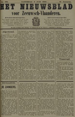 Nieuwsblad voor Zeeuwsch-Vlaanderen 1900-06-09