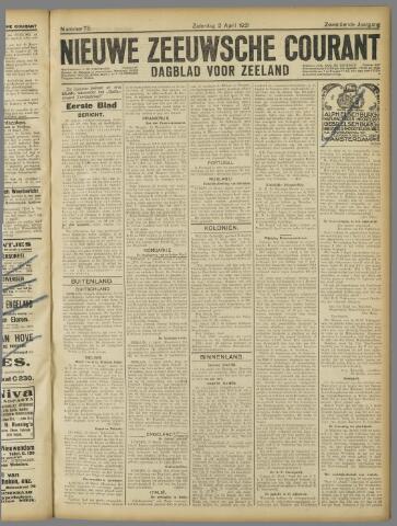 Nieuwe Zeeuwsche Courant 1921-04-02