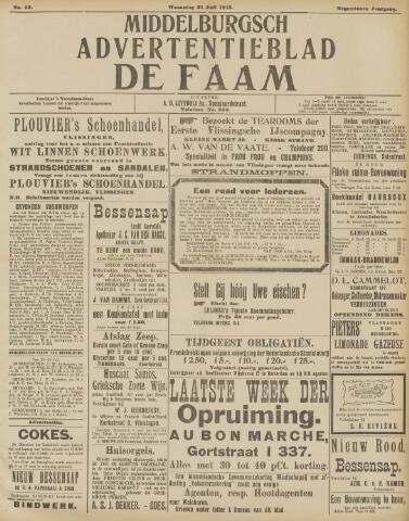 de Faam en de Faam/de Vlissinger 1915-07-21