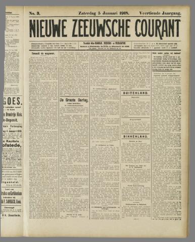 Nieuwe Zeeuwsche Courant 1918-01-05
