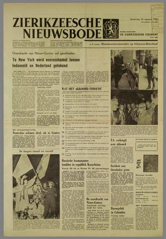 Zierikzeesche Nieuwsbode 1962-08-16