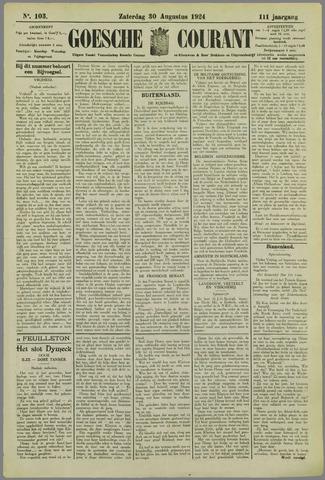 Goessche Courant 1924-08-30