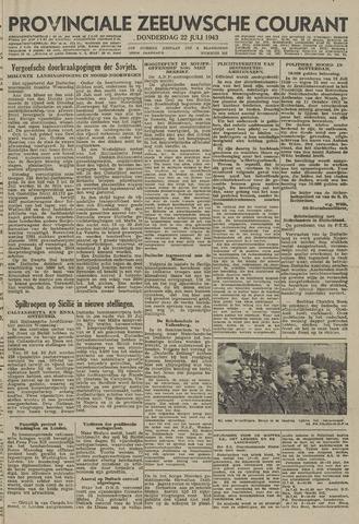 Provinciale Zeeuwse Courant 1943-07-22