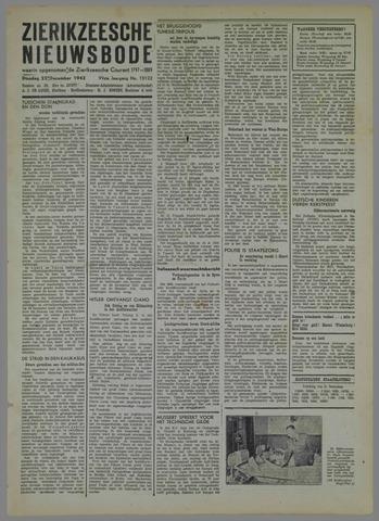 Zierikzeesche Nieuwsbode 1942-12-22