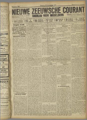 Nieuwe Zeeuwsche Courant 1921-11-15