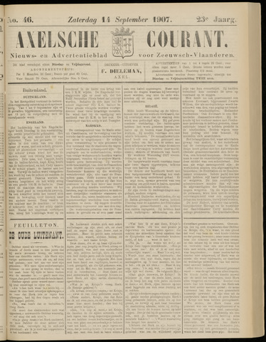 Axelsche Courant 1907-09-14