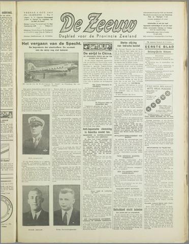 De Zeeuw. Christelijk-historisch nieuwsblad voor Zeeland 1937-10-08