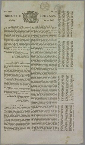 Goessche Courant 1826-07-21