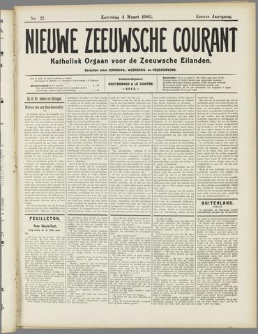 Nieuwe Zeeuwsche Courant 1905-03-04