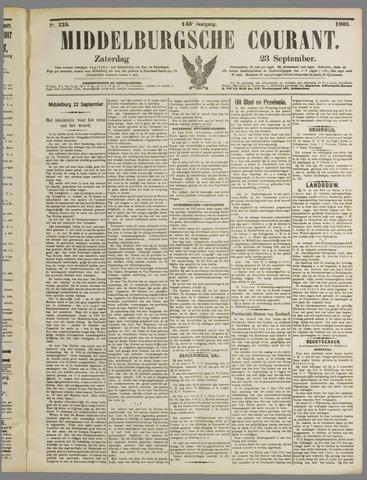 Middelburgsche Courant 1905-09-23