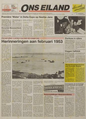 Watersnood documentatie 1953 - kranten 1993-01-21