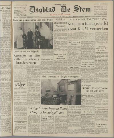 de Stem 1963-08-21