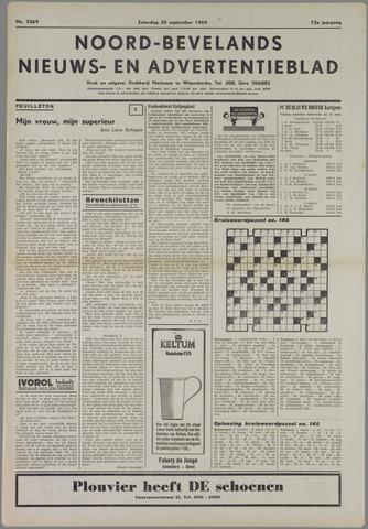 Noord-Bevelands Nieuws- en advertentieblad 1969-09-20