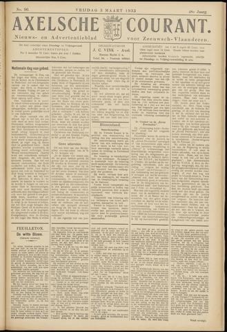Axelsche Courant 1933-03-03