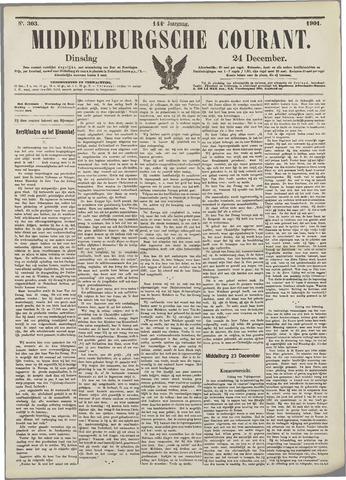 Middelburgsche Courant 1901-12-24