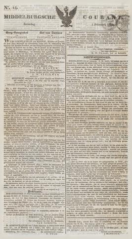 Middelburgsche Courant 1834-02-01
