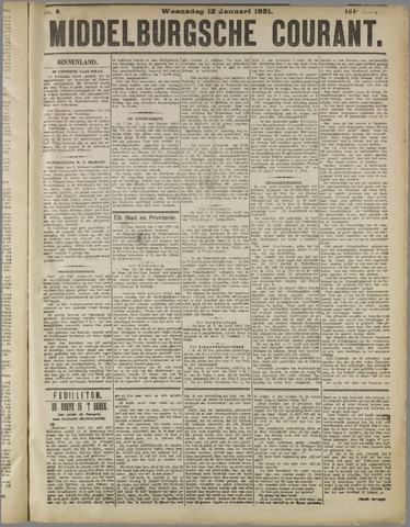 Middelburgsche Courant 1921-01-12