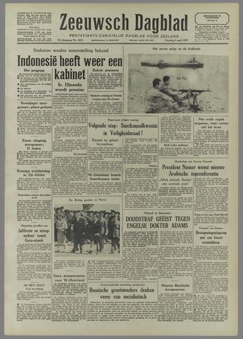 Zeeuwsch Dagblad 1957-04-09