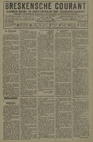 Breskensche Courant 1927-09-14