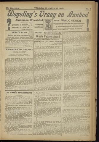Zeeuwsch Nieuwsblad/Wegeling's Nieuwsblad 1925-01-30
