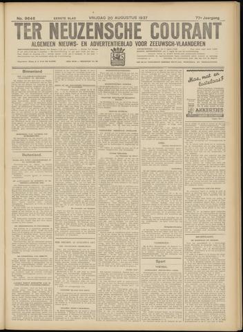 Ter Neuzensche Courant. Algemeen Nieuws- en Advertentieblad voor Zeeuwsch-Vlaanderen / Neuzensche Courant ... (idem) / (Algemeen) nieuws en advertentieblad voor Zeeuwsch-Vlaanderen 1937-08-20