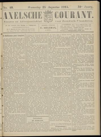 Axelsche Courant 1915-08-25