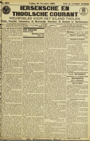 Ierseksche en Thoolsche Courant 1930-11-28