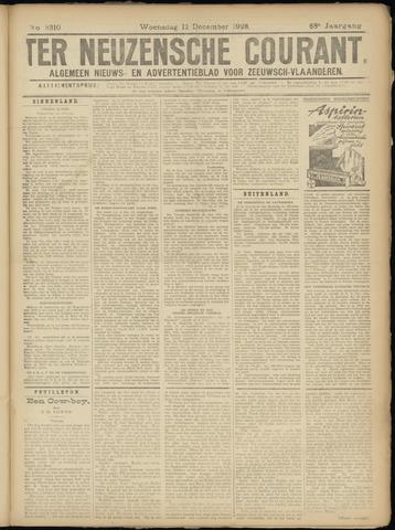 Ter Neuzensche Courant. Algemeen Nieuws- en Advertentieblad voor Zeeuwsch-Vlaanderen / Neuzensche Courant ... (idem) / (Algemeen) nieuws en advertentieblad voor Zeeuwsch-Vlaanderen 1928-12-12