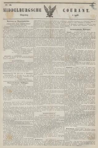 Middelburgsche Courant 1851-04-08