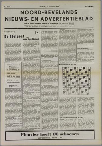 Noord-Bevelands Nieuws- en advertentieblad 1973-11-15