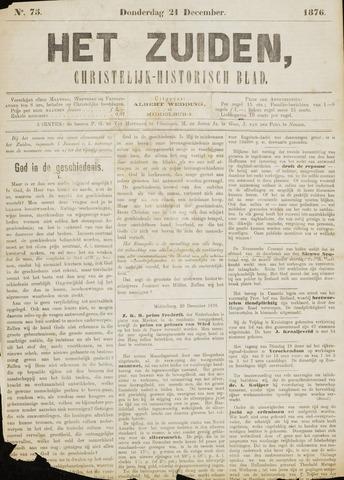 Het Zuiden, Christelijk-historisch blad 1876-12-21