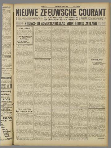 Nieuwe Zeeuwsche Courant 1925-05-14
