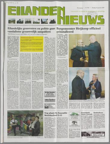 Eilanden-nieuws. Christelijk streekblad op gereformeerde grondslag 2007-09-18