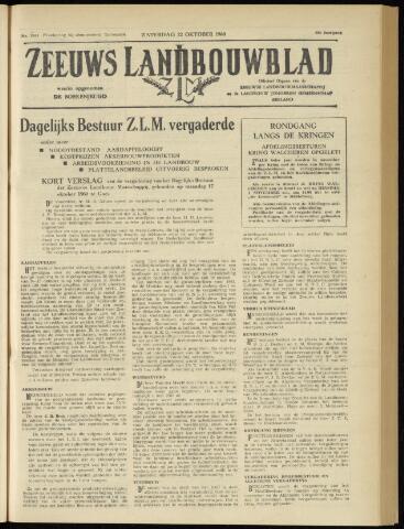 Zeeuwsch landbouwblad ... ZLM land- en tuinbouwblad 1960-10-22