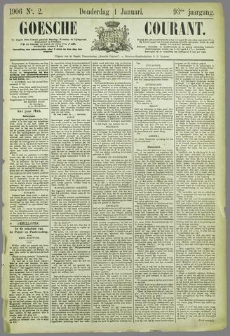 Goessche Courant 1906-01-04