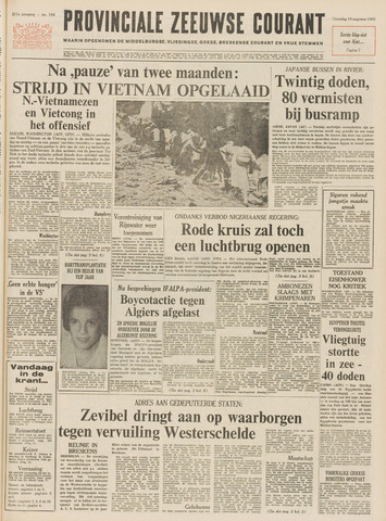 Provinciale Zeeuwse Courant 1968-08-19