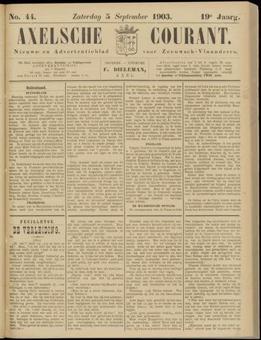 Axelsche Courant 1903-09-05