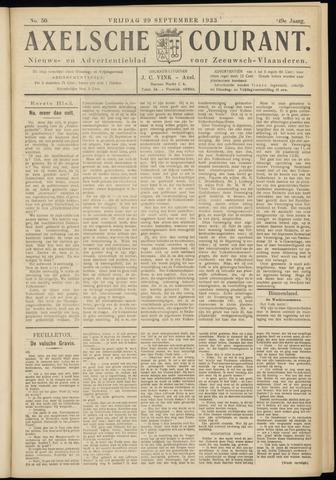 Axelsche Courant 1933-09-29