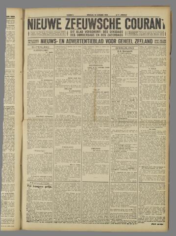 Nieuwe Zeeuwsche Courant 1925-01-13