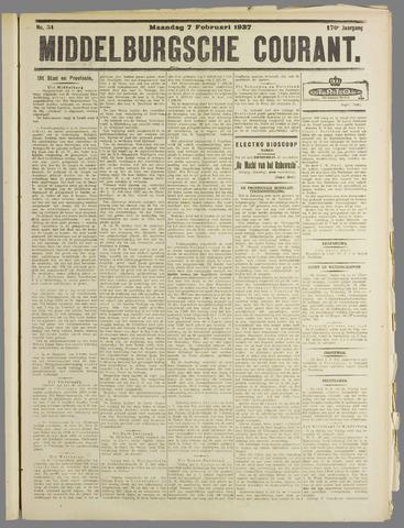 Middelburgsche Courant 1927-02-07
